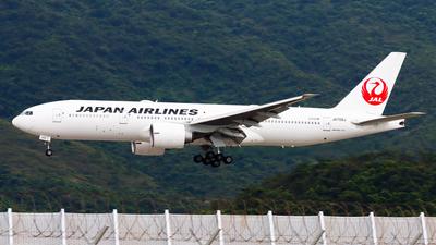 JA709J - Boeing 777-246(ER) - Japan Airlines (JAL)