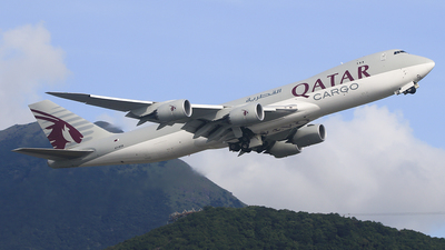 A7-BGB - Boeing 747-87UF - Qatar Airways Cargo