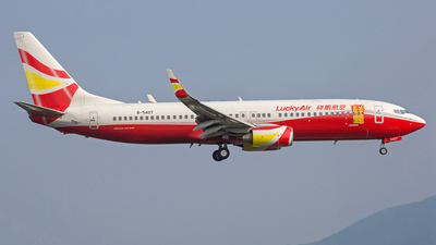 B-5407 - Boeing 737-808 - Lucky Air
