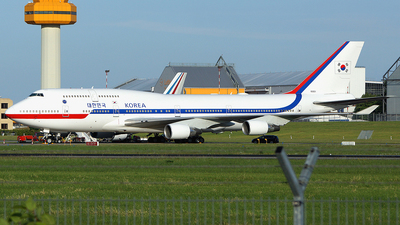 HL7465 - Boeing 747-4B5 - South Korea - Air Force
