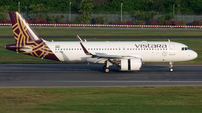 A picture of VTTNU - Airbus A320251N - Vistara - © He Jia Hao
