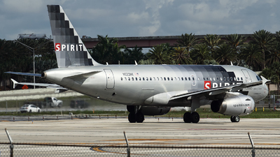 N523NK - Airbus A319-132 - Spirit Airlines