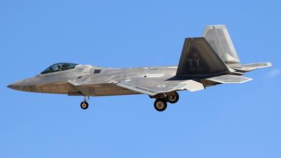 04-4083 - Lockheed Martin F-22A Raptor - United States - US Air Force (USAF)