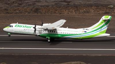 EC-MSJ - ATR 72-212A(600) - Binter Canarias (Canarias Airlines)