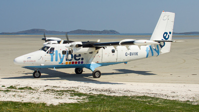 G-BVVK - De Havilland Canada DHC-6-300 Twin Otter - Flybe (Loganair)