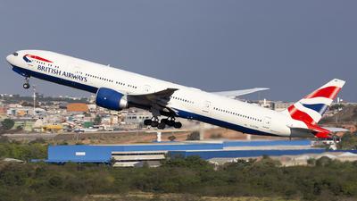 G-STBE - Boeing 777-36NER - British Airways