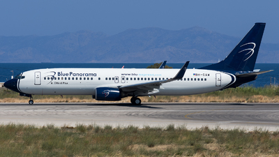 9H-GAW - Boeing 737-8Z0 - Blue Panorama Airlines