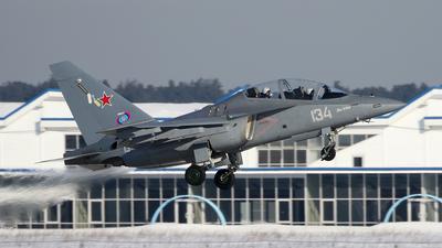 134 - Yakovlev Yak-130 - Russia - Air Force