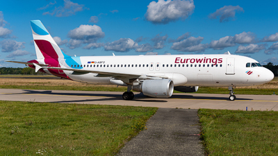 A picture of DABFO - Airbus A320214 - Eurowings - © Niclas Rebbelmund