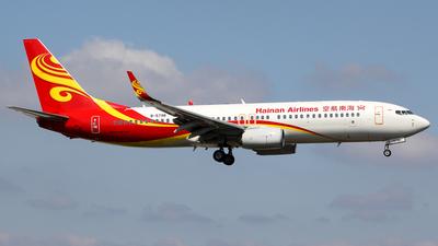 B-5798 - Boeing 737-84P - Hainan Airlines