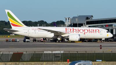 A picture of ETARE - Boeing 7878 Dreamliner - Ethiopian Airlines - © Luca Cesati