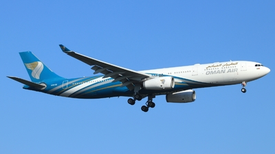 A picture of A4ODE - Airbus A330343 - Oman Air - © Miroslav Musil