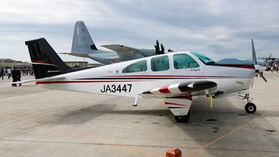 JA3447 - Beechcraft E33 Bonanza - Private