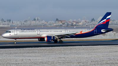 VP-BDC - Airbus A321-211 - Aeroflot
