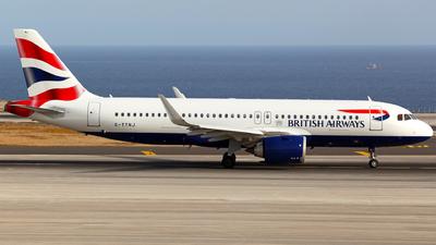 G-TTNJ - Airbus A320-251N - British Airways