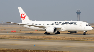 JA823J - Boeing 787-8 Dreamliner - Japan Airlines (JAL)