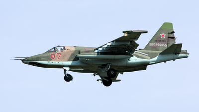 RF-92255 - Sukhoi Su-25SM Frogfoot - Russia - Air Force
