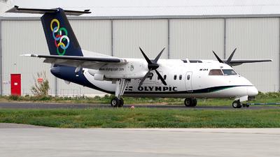 A picture of SXBIP - De Havilland Canada Dash 8100 - Olympic Air - © Buzu