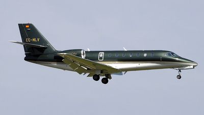 EC-MLV - Cessna 680 Citation Sovereign - Tag Aviation España