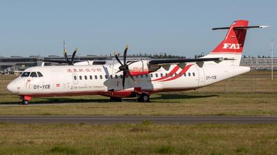 OY-YCE - ATR 72-212A(600) - Far Eastern Air Transport (FAT)