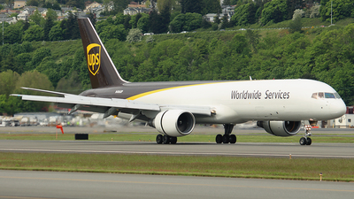 N406UP - Boeing 757-24A(PF) - United Parcel Service (UPS)
