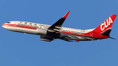 B-20A8 - Boeing 737-89P - China United Airlines