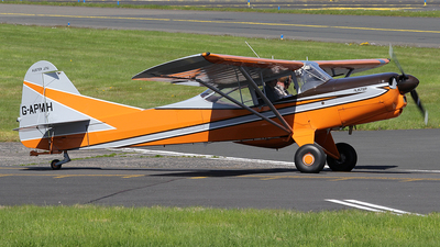A picture of GAPMH - Auster J1U Workmaster - [3502] - © Ian Howat