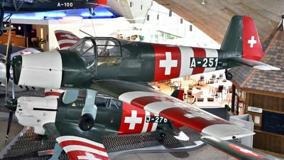 A-251 - Bücker 181 Bestmann - Switzerland - Air Force