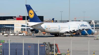 A picture of DABYP - Boeing 747830 - Lufthansa - © Sebastian Thiel