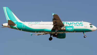 A picture of VPCYD - Airbus A320214 - Flynas - © Basil Lutfi