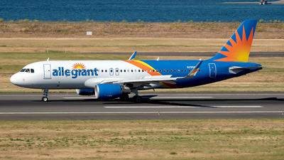 A picture of N255NV - Airbus A320214 - Allegiant Air - © Yan777