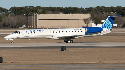 A picture of N16147 - Embraer ERJ145XR - United Airlines - © Yixin Chen