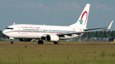 CN-ROA - Boeing 737-8B6 - Royal Air Maroc (RAM)