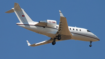 A picture of TCCMK - Bombardier Challenger 605 - [5767] - © Diogo Guimaraes