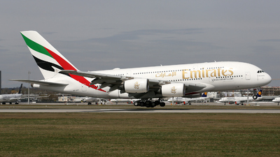A picture of A6EVF - Airbus A380842 - Emirates - © Stefan Mayer