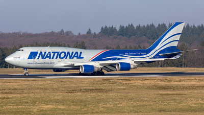N952CA - Boeing 747-428(BCF) - National Airlines