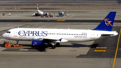 5B-DCG - Airbus A320-232 - Cyprus Airways