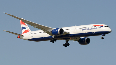 G-ZBLA - Boeing 787-10 Dreamliner - British Airways
