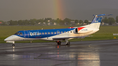 G-RJXK - Embraer ERJ-135ER - bmi Regional