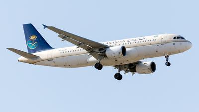 A picture of HZAS36 - Airbus A320214 - [4393] - © Mehdi Nazarinia - MehdiPhotos.com