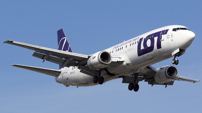 SP-LLG - Boeing 737-45D - LOT Polish Airlines