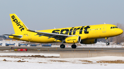 A picture of N622NK - Airbus A320232 - Spirit Airlines - © Alec Mollenhauer