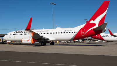 A picture of VHVYF - Boeing 737838 - Qantas - © Rory Delaney