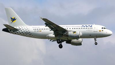 A picture of XYALK - Airbus A319115 - Myanmar Airways International - © R-H Chen