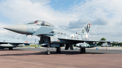 30-29 - Eurofighter Typhoon EF2000 - Germany - Air Force