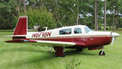 N6718N - Mooney M20F - Private