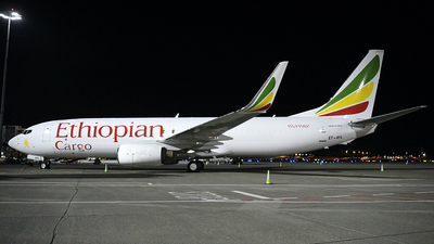 A picture of ETAYL - Boeing 737804(SF) - Ethiopian Airlines - © PAUL QUINN