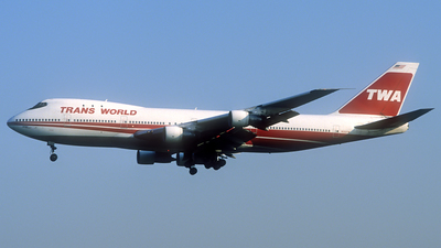 N133TW - Boeing 747-151 - Trans World Airlines (TWA)