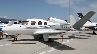 N735LA - Cirrus Vision SF50 - Private