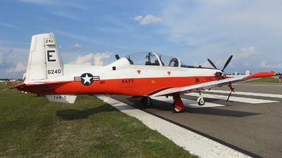 166240 - Raytheon T-6B Texan II - United States - US Navy (USN)